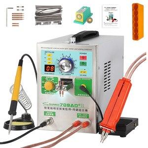 Image 1 - SUNKKO 709AD + zgrzewarka punktowa do baterii 3.2KW automatyczna zgrzewarka impulsowa 18650 z wysoką mocą zgrzewanie punktowe