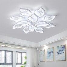 Luzes de teto modernas led ferro lustre app função controle remoto/sala estar/quarto/casa/lustre/teto acrílico luz