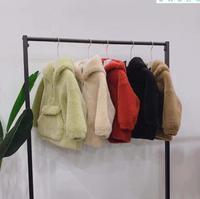 Winter Girls Faux fur Baby Coats for Girls Jackets Kids Waistcoat Outwear Girls clothing children Artificial Fur coat