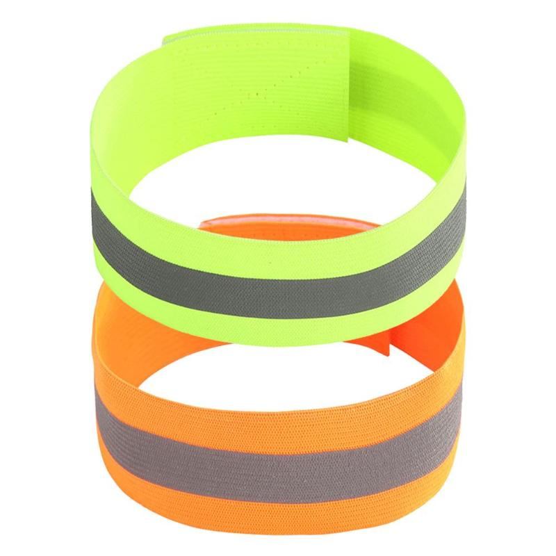 Night Reflective Safety Belt Outdoor Sports Arm Strap Luminous Arm Band