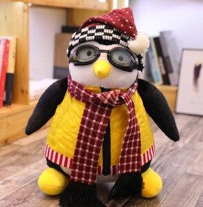 Image 2 - 46/26CM Joeys Friend HUGSY Plush Penguin Stuffed Animals  Toy