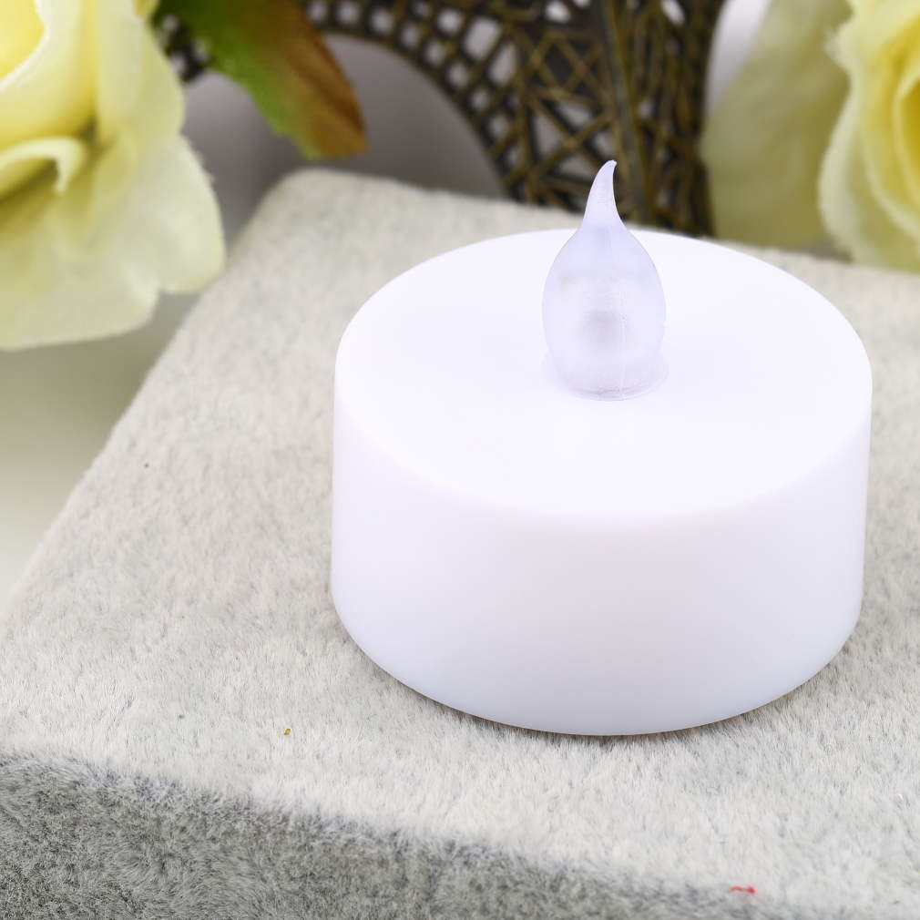 Water Float Simulation Flameless No Smoke Candle Light Lamp Party Wedding Gathering Birthday Occasion Use
