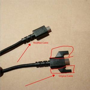 Image 2 - USB マウス修正イヤホンワイヤーロジクール G533 G633 G933 ヘッドホンケーブルの交換充電マウス編組 USB ライン