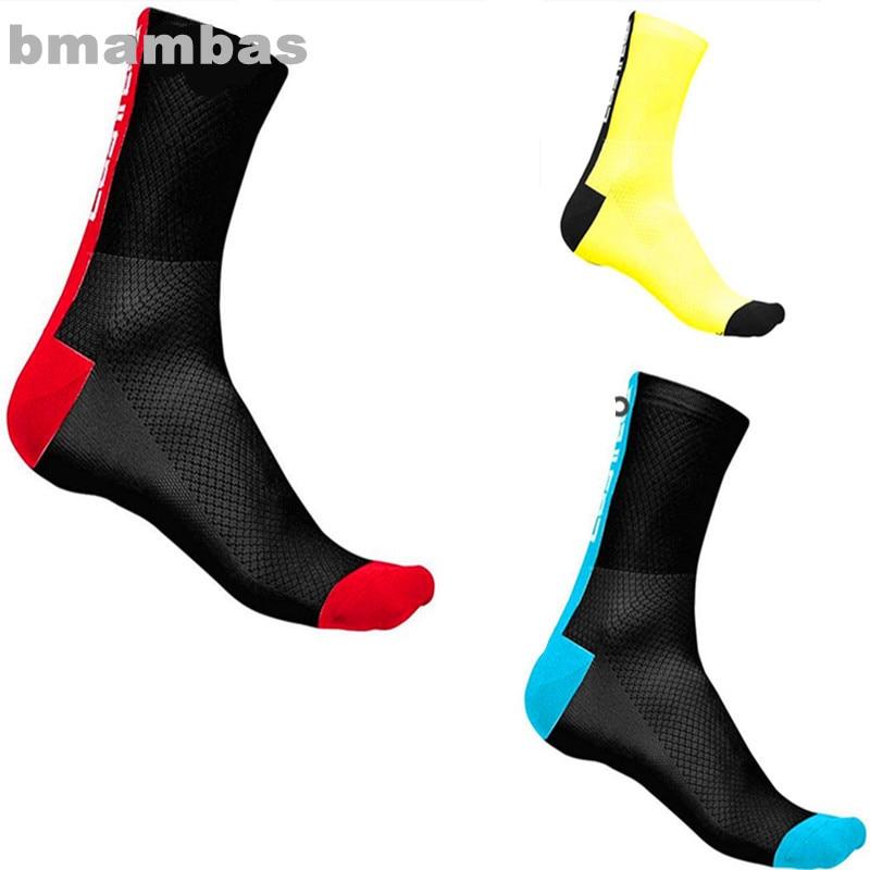 COLNAGO Compression Men New Cycling Socks Men Outdoor Mount Sports Wearproof Bike Footwear For Road Bike Socks Running Socks