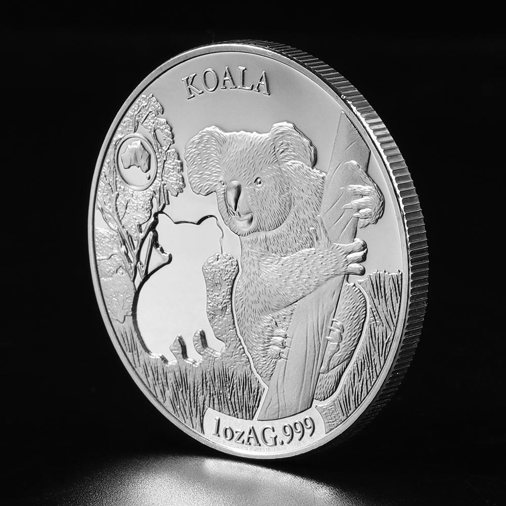 Австралийские серебряные монеты, морская крокодиловая змея кенгуру 1 унция, серебряная монета в виде животного, серебряная монета, Элизабет...