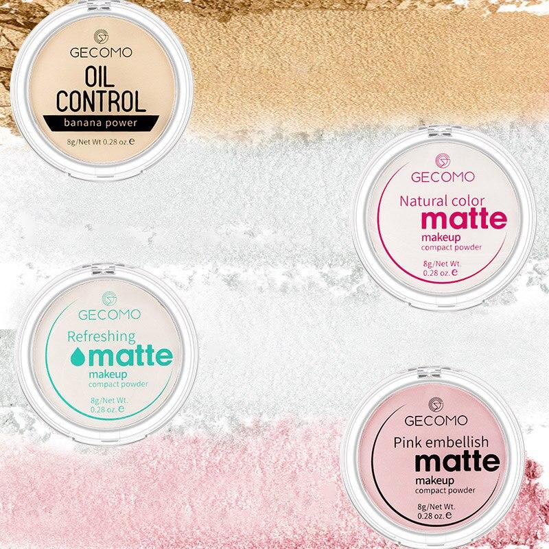 GECOMO/Gemeng Banana Powder Makeup Loose Powder Oil Control Matte Translucent Dry Powder Loose Powder Waterproof Makeup Powder