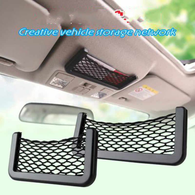 For Land Rover Discovery Range Rover Evoque Car Seat Back Storage Net Bag Phone Holder Trunk Net Auto Car Seat Organizer Pockets
