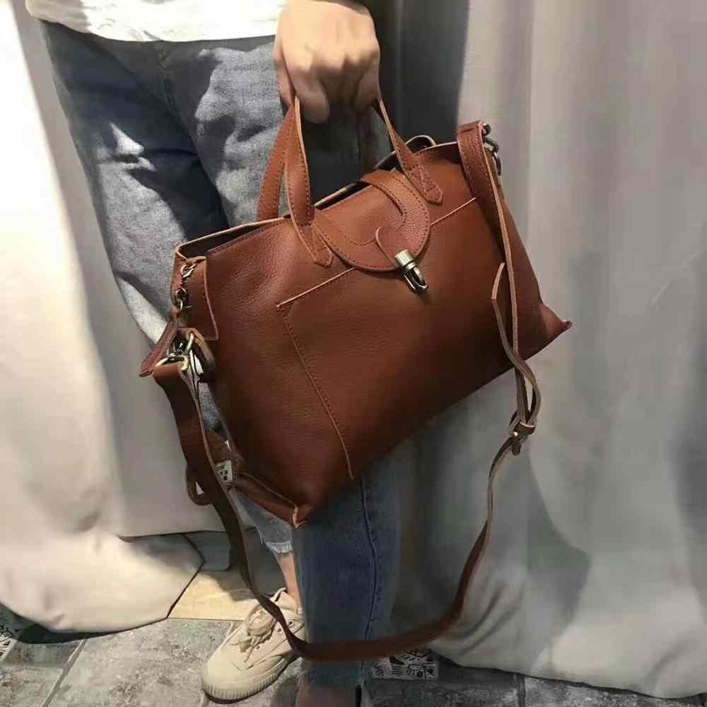 Роскошные сумки, женская сумка из натуральной кожи, повседневная сумка-тоут, женские сумки на плечо, высокое качество, пряжка, молния, ручная сумка, женская сумка через плечо