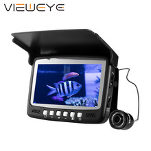 ViewEye Original Video buscador de peces bajo el agua Video Fishfinder pesca Cámara 8 Uds infrarrojo LED monitor Cámara kit día regalo(China)