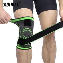 AOLIKES 1 Uds 2020 rodillera de protección en deportes profesional rodillera venda transpirable rodillera de baloncesto tenis ciclismo