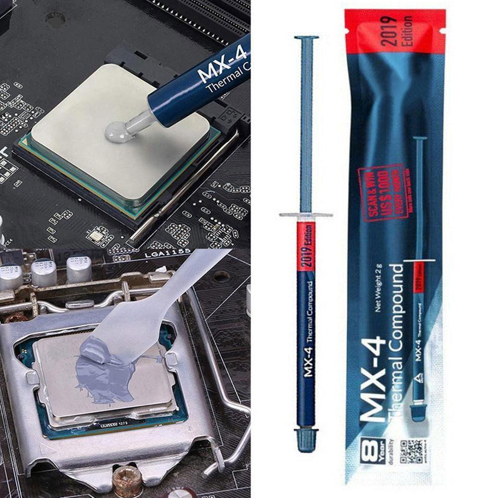 MX-4 2g 4g MX4 процессор процессорный кулер охлаждающий вентилятор, Термопаста VGA составной радиатор Plaster paste