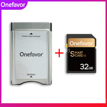 Memory-90mb/S Adapter Pcmcia-Card-Reader U3-Sdhc Onefavor Mercedes-Benz 32GB 16GB