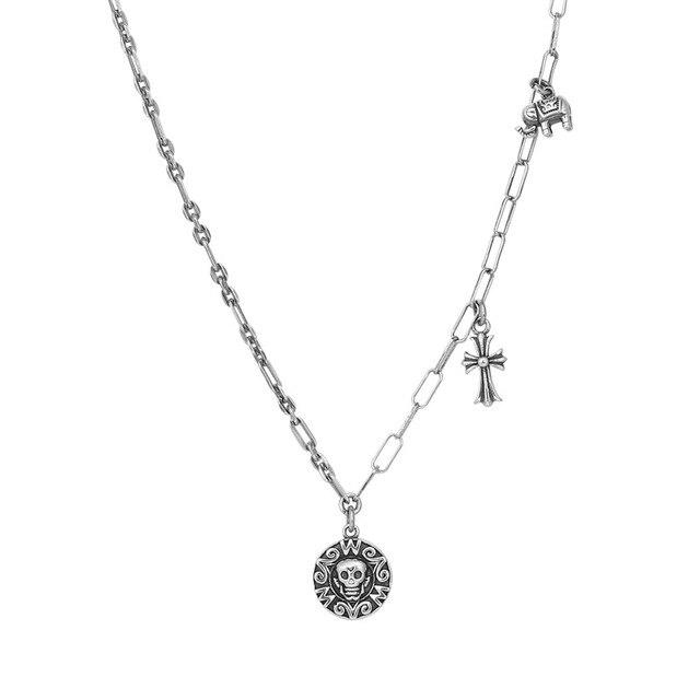 Купить leouerry серебро 925 пробы винтажное ожерелье с подвеской в картинки цена