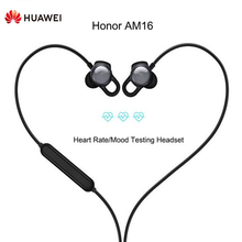 Huawei Honor AM16 HIFI Earphones Sport Headset With Mic Heart Rate Mood Testing premarital hiv testing results and discordant rate