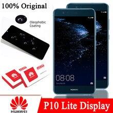 100% oryginalny 5.2 ''LCD z ramką do Huawei P10 Lite WAS-LX1 WAS-LX1A WAS-LX2 był wyświetlacz dotykowy Digitizer naprawa części