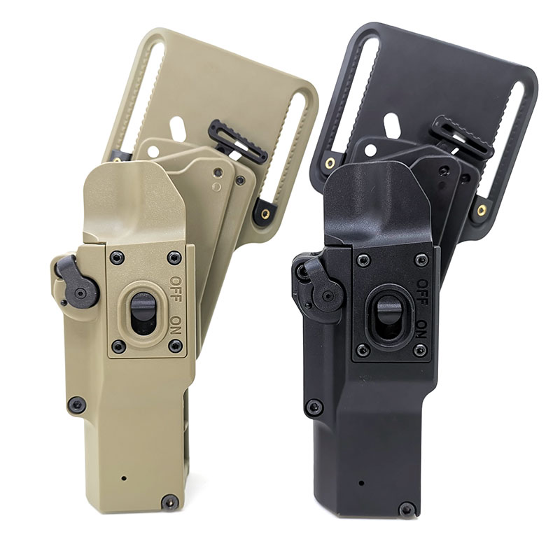 Tactical Weapon Hunting Holster. Pistol Compatible, Can Be Stored With ( XH15/XH35/X300UH-B Flashlight)For Right Hand Side User