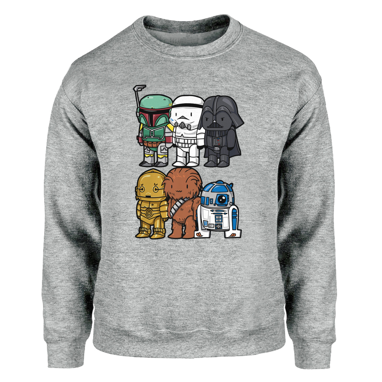 Star Wars Hoodies Sweatshirts Men Yoda Darth Vader Crewneck Sweatshirt Winter Autumn Starwars Science Fiction Movies Streetwear