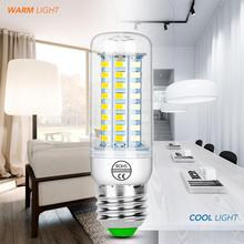 E27 LED Lamp E14 LED Bulb 220V Corn Bulb 24 36 48 56 69 72 LEDs Chandelier Candle Light For Home Decoration Ampoule 5730SMD 240V e27 led bulb e14 led lamp ac 220v 240v corn candle lamp 24 36 48 56 69 72 leds chandlier lighting for home decoration led lights