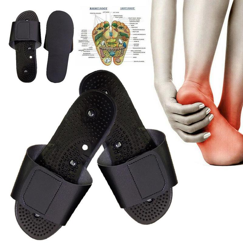 Massage Therapie Elektrode Hausschuhe Zehn Akupunktur Therapie Elektrode Massage Hausschuhe Körper Fuß Entspannende Massager Maschine