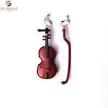 Independent design violin baroque style European and American retro Renaissance chic hot sale earrings ear clip studs