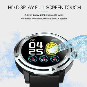 Image 5 - Reloj inteligente V5 para hombre, dispositivo resistente al agua, con control del ritmo cardíaco y de la presión sanguínea, Monitor de sueño y seguimiento de actividad/deporte, podómetro