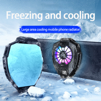 Ventilador de refrigeración portátil para teléfono móvil, funda de refrigeración DL05 para Xiami, Huawei, Samsung y IPhone