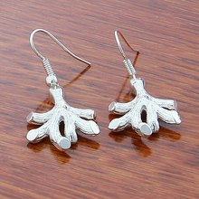 Hot Sale Drop Earrings Fashion Silver Jewelry, Sterling Silver Jewelry 925 Silver High Quality Earrings for Women Girl Party double r brand new jewelry earrings for women hot sale yellow gold plated 925 sterling silver drop earrings case04266sc 2