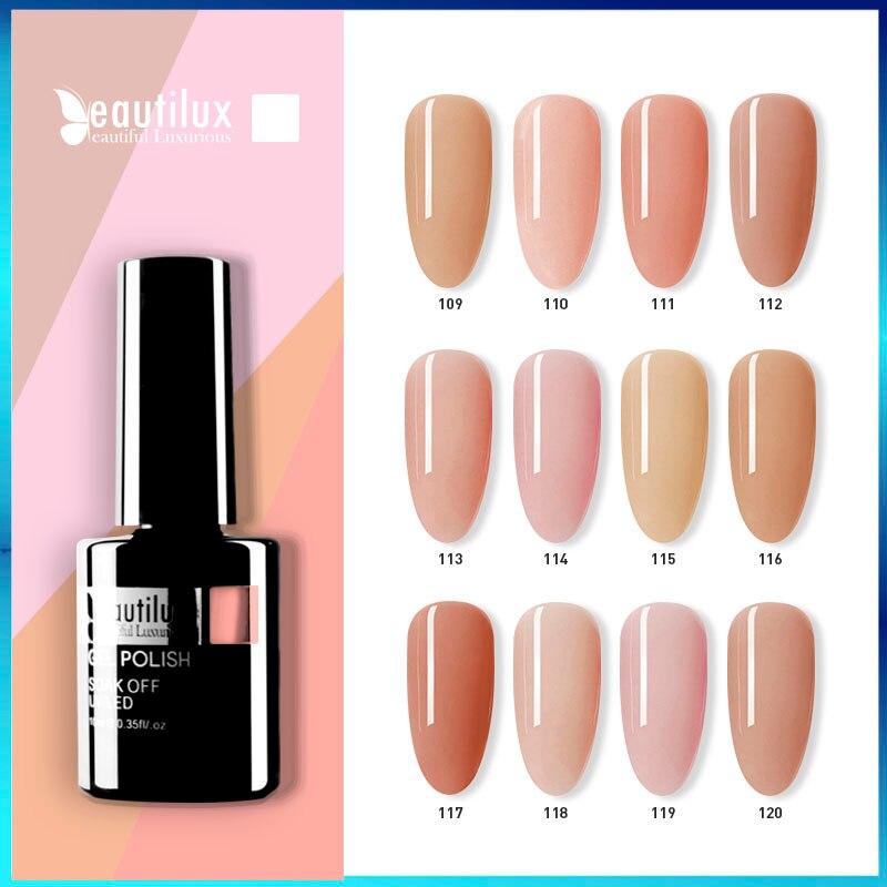 Beautilux 1 шт. телесный розовый Камуфляжный Цветной Гель-лак для ногтей впитывающий УФ светодиодный гель для дизайна ногтей лак Smalto гель лак 10 м...