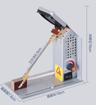 Temperature adjustable cutting machine Melting cutter Nylon ribbon, Elastic band cutter, 220V ribbon cutter