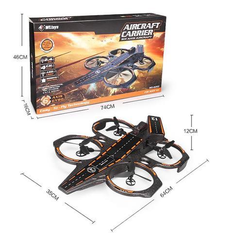 giroscopio 24g 4ch rc quadcopter rtf mar