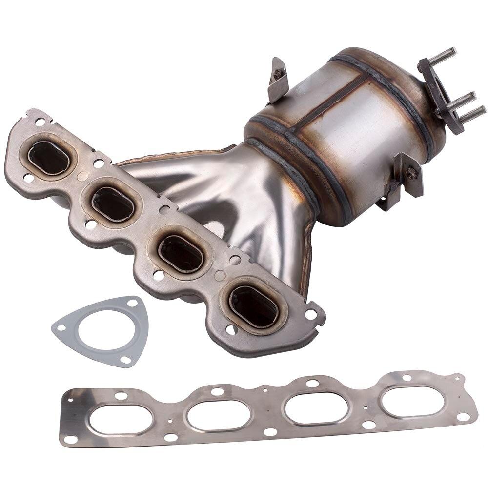 Exhaust Manifold Catalytic Converter For Toyota Camry Solara Header Gasket Bolt