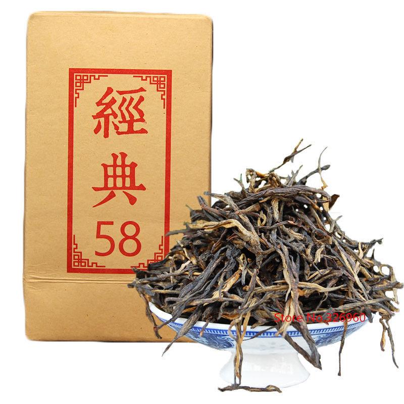 Dian Hong 58 Famous Yunnan Fengqing Dianhong Congou Black 180g