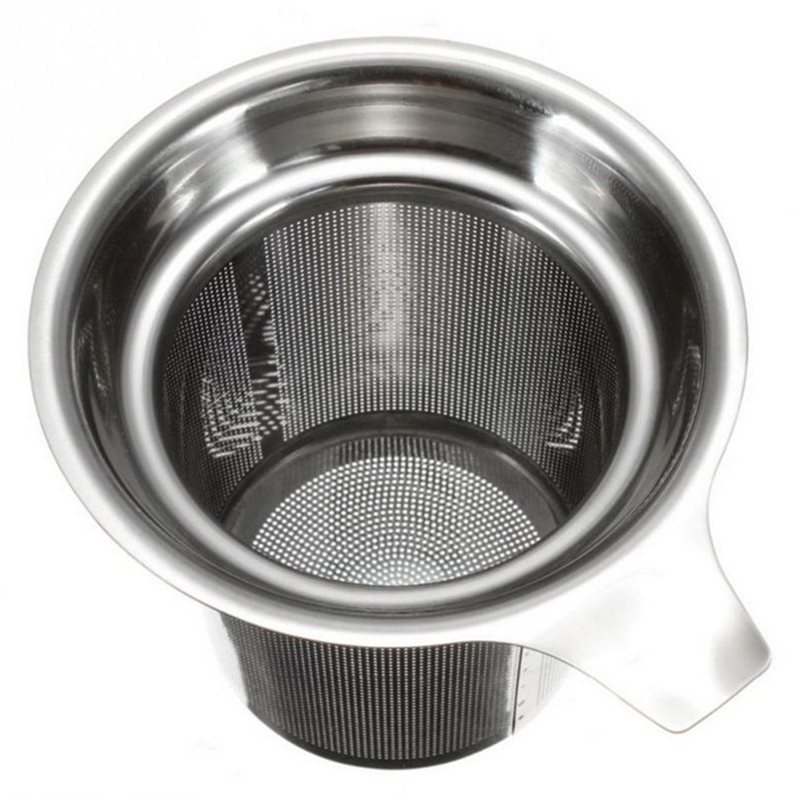 Strainer Kitchen-Accessories Drinkware Infuser Teapot SPICE-FILTER Mesh Leaf Stainless-Steel title=