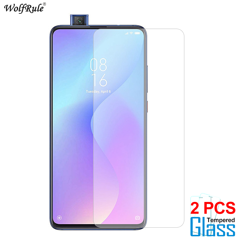 2PCS Glass For Xiaomi Mi 9 Lite 8 SE 9T Pro CC9 CC9e Screen Protector Tempered Glass For Xiaomi Mi 5 Glass Protective Phone Film