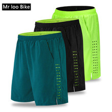 mtb shorts Padded Baggy Cycling Shorts Reflective Bike Bicycle Riding Pants Waterproof Loose Fit Shorts downhill mtb shorts цена 2017