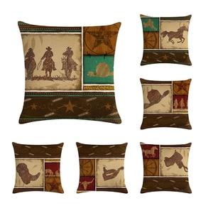 Cowboy Horse Animals Pattern D