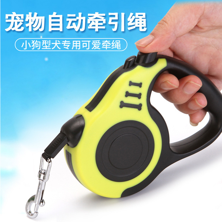 Pet Leashing Device Hand Holding Rope Dog Supplies Automatic Telescopic Rope 3m5m Outdoor Dog Pet Supplies
