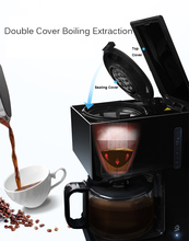 American Coffee Machine Fully Automatic Drip Type Teapot Family Multifunction Purified Water Automatic Power-off Easy To Clean цена и фото