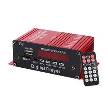 Car-Amplifier HIFI Stereo Bluetooth Mini 2-Channel with Fm-Radio TF/AUX