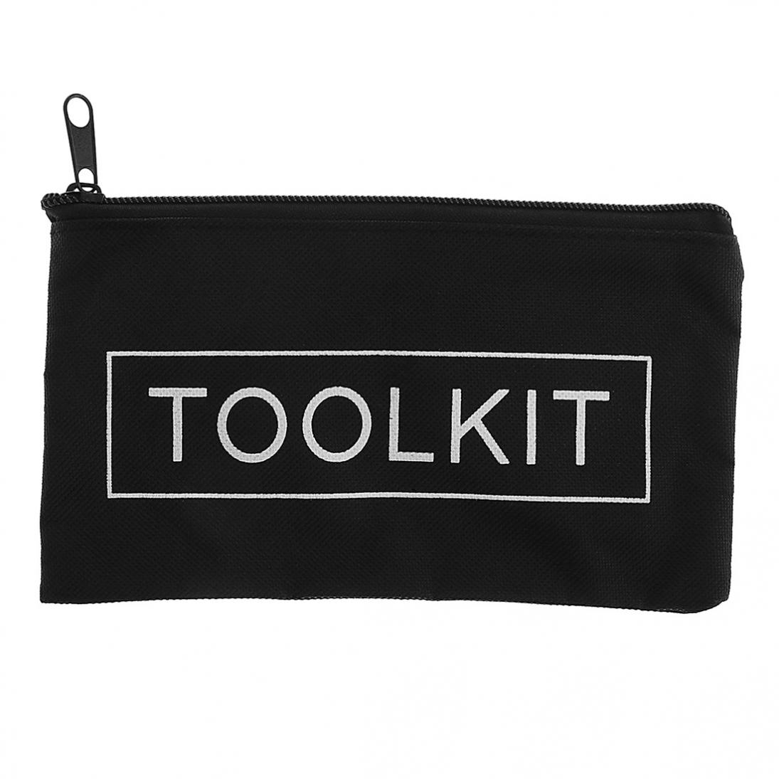 600D Oxford Cloth Tool Kit Bag With Zipper For Maintenance Tool Storage