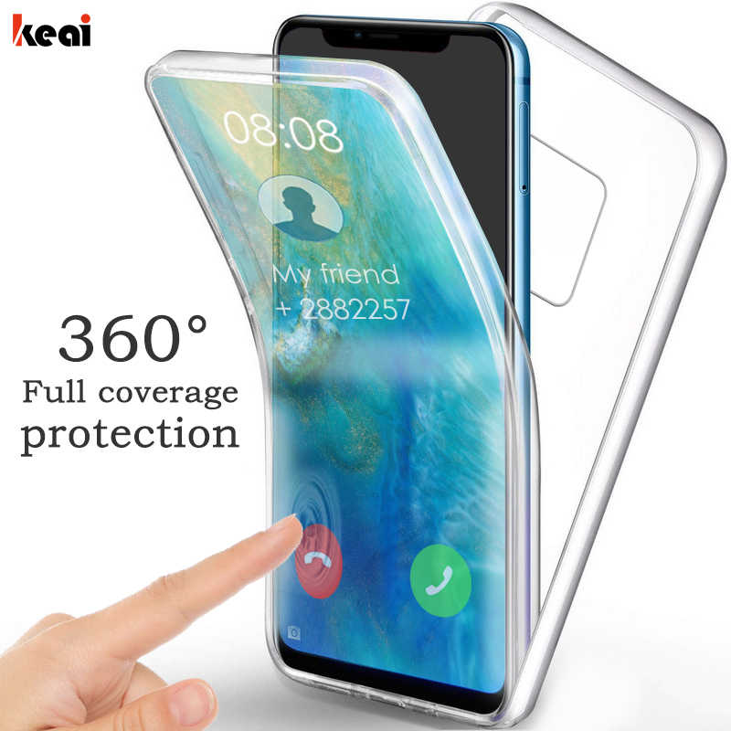 360 Full Cover Shockproof Case For Huawei P20 P30 Pro Nova 3 3i Hard Back Cover For Huawei Mate 30 20 10 Lite P Smart 2019 Case