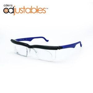 Image 1 - Adlens di Messa A Fuoco Regolabile Occhiali Da Lettura Miopia Occhiali Da Vista 4D a + 5D Diottrie Ingrandimento Variabile Resistenza