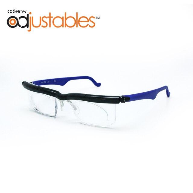 Adlens di Messa A Fuoco Regolabile Occhiali Da Lettura Miopia Occhiali Da Vista 4D a + 5D Diottrie Ingrandimento Variabile Resistenza