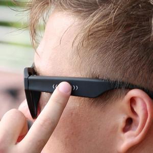 Image 4 - Bgreen condução óssea fone de ouvido bluetooth áudio inteligente polarizado óculos de sol vidro com bluetooth correndo fone de ouvido caminhadas
