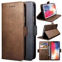 купить Pu Leather Flip Wallet Folio Book Magnetic closure Case Cover For iPhone 11 Pro Max  5S 6 6S 6 Plus 6S 7 8 X XR XS Max по цене 253.36 рублей