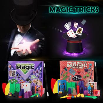Nowe zabawne magiczne rekwizyty zestaw dla dzieci dzieci magiczne sztuczki zabawki początkujący magiczny zestaw zestaw magiczne wykonywanie rekwizyty magiczne Puzzle zabawki tanie i dobre opinie Z tworzywa sztucznego CN (pochodzenie) Unisex Jeden rozmiar Funny Magic Tricks Nauka ŁATWE DO WYKONANIA Beginner Profesjonalne