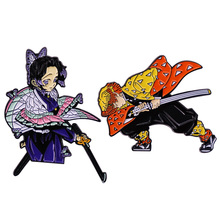 PF372 Dongmanli Anime Figures Cool Enamel Pins Badge Brooch Backpack Bag Collar Lapel Decoration Jewelry Gifts for Friends
