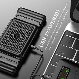 Image 3 - Enfriador de teléfono móvil, diseño delicado, Enfriador de agua para teléfono móvil, apoyo de ventiladores, Gamepad, disipador de calor, soporte de enfriamiento
