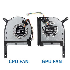 New Original CPU GPU cooling fan for ASUS Strix TUF 6 FX705G FX705GM FX86 FX86SM FX505 FX505G FX505GE FX505GD Laptop COOLING FAN