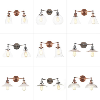 Boreal Europe style small cafe restaurant boutique showrooms aisle personality the bedroom decorates wall lamp недорого